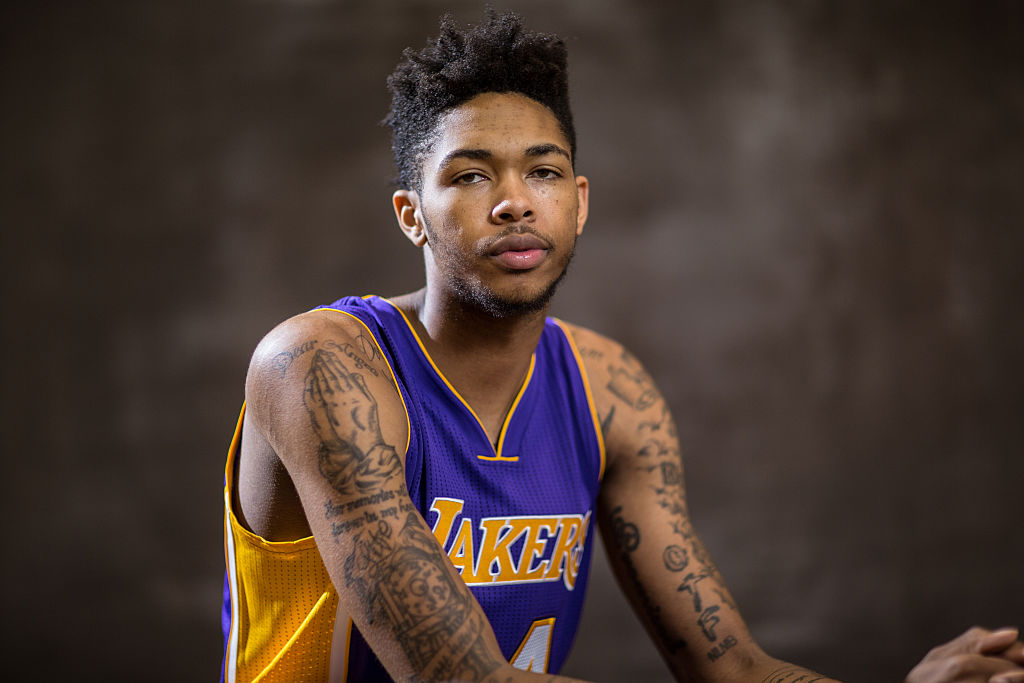 c79e97a048a7 Lakers News   Rumors  Rookie Brandon Ingram could play SG behind Jordan  Clarkson