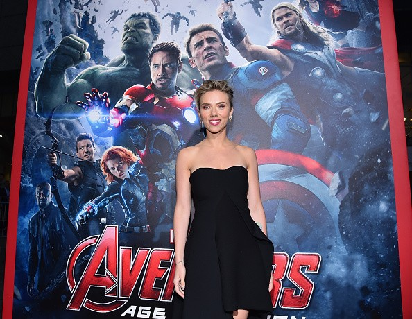 "Actress Scarlett Johansson attended the world premiere of Marvel's ""Avengers: Age Of Ultron"" at the Dolby Theatre on April 13, 2015 in Hollywood, California."