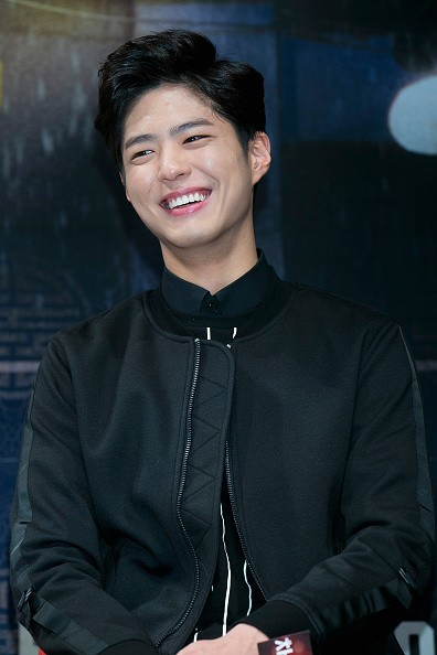 Actor Park Bo Gum during the press conference for 'Coinlocker Girl'.