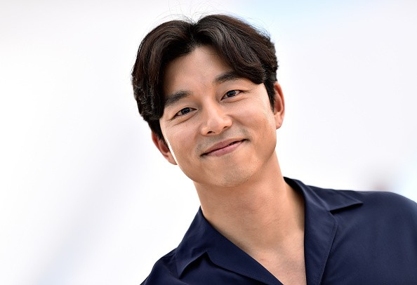 Gong Yoo in attendance during a photocall at the 69th Annual Cannes Film Festival.