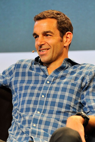 Claude Zellweger of HTC speaks onstage during day one of TechCrunch Disrupt SF 2015 at Pier 70 on September 21, 2015 in San Francisco, California.