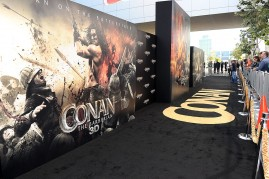 Premiere Of Lionsgate Films' 'Conan The Barbarian' - Red Carpet