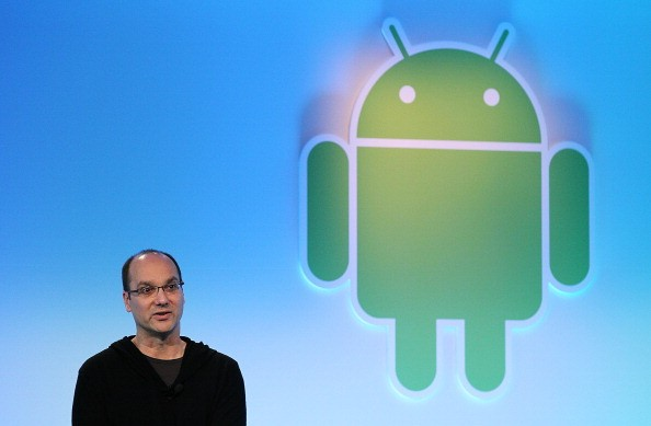Andy Rubin speaks during a press event at Google headquarters on February 2, 2011 in Mountain View, California.