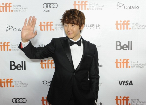 2PM's Junho arrives at the 2013 Toronto International Film Festival for the premiere of 'Cold Eyes.'