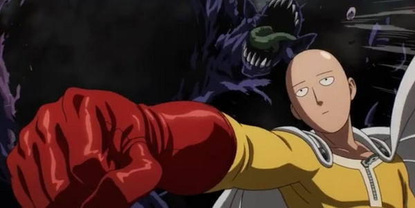 "Saitama in ""One Punch Man"""